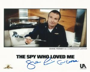 Shane Rimmer Shane Rimmer Scott Tracy THUNDERBIRDS, Bond, Star Wars, Genuine Autograph 10X8 11398